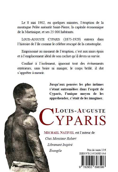 Quatrième de Cyparis de Michael Nativel