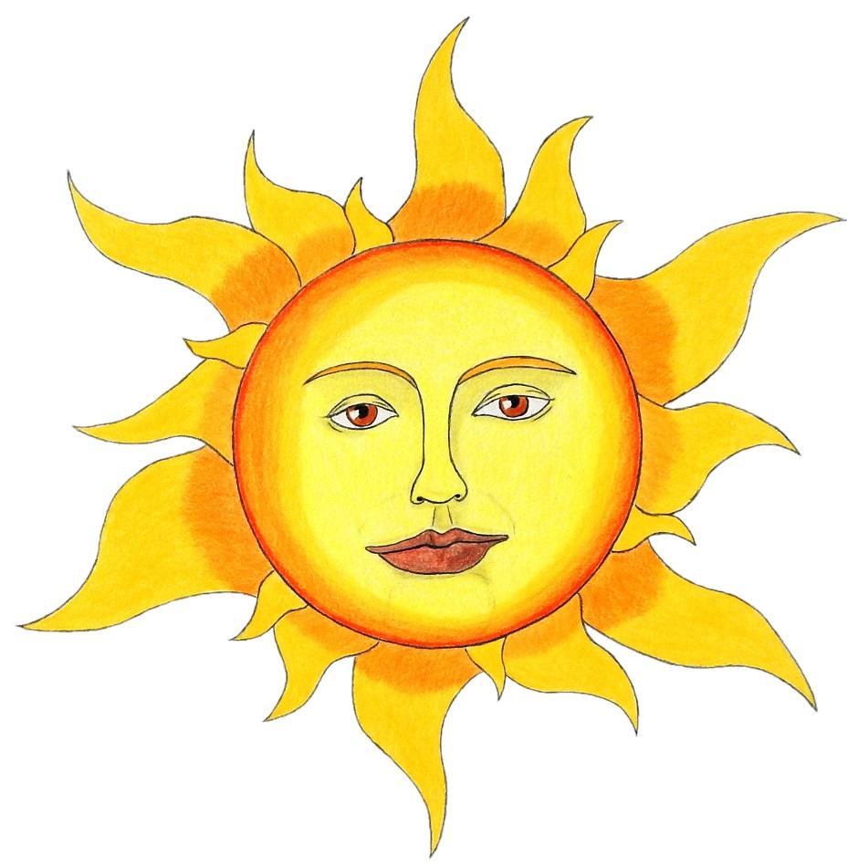 Soleil, illustration de Michael Nativel
